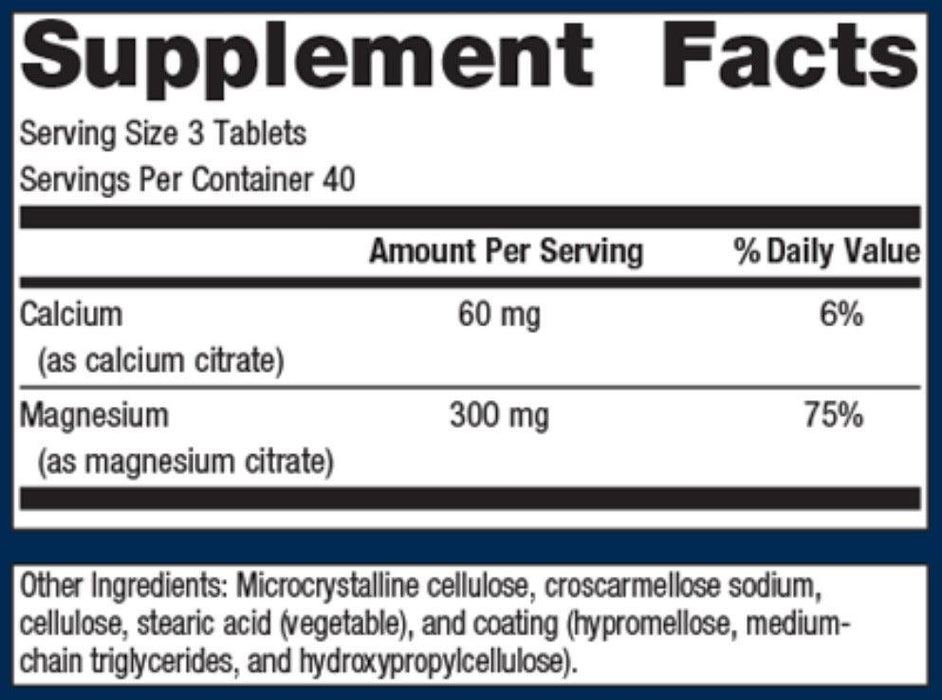 Metagenics Mag Citrate