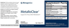 Metagenics MetalloClear