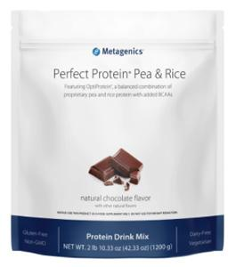 Metagenics Perfect Protein Pea & Rice