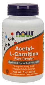 NOW Acetyl-L-Carnitine Powder