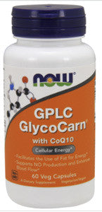 NOW GPLC GlycoCarn with CoQ10