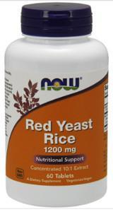 NOW Red Yeast Rice 1200 Mg