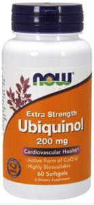 NOW Ubiquinol Extra Strength