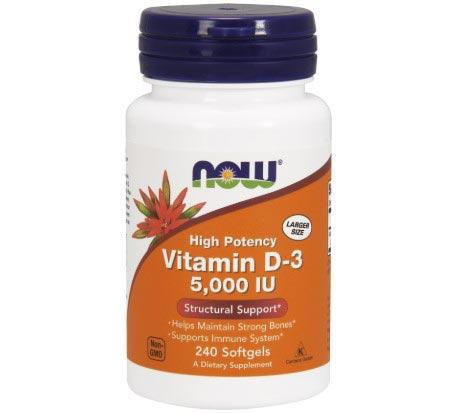 NOW Vitamin D-3 5,000 IU