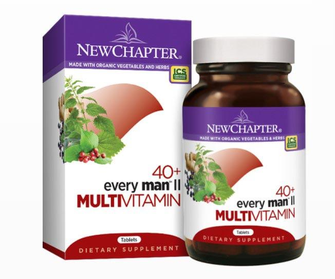 New Chapter Every Man II Multivitamin