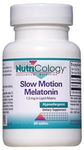 Nutricology Slow Motion Melatonin