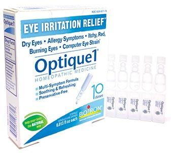 Boiron Homeopathics Optique