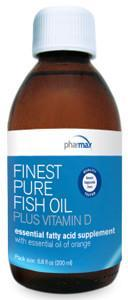 Pharmax Finest Pure Fish Oil Plus Vitamin D