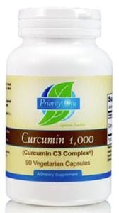 Priority One Curcumin 1,000mg