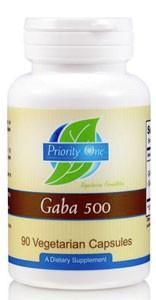 Priority One GABA 500