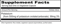 Priority One Potassium Orotate