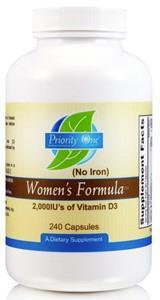 Priority One Women's Formula