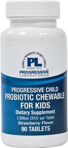Progressive Laboratories Probiotic Chewable for Kids