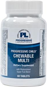 Progressive Laboratories Progressive Child Chewable Multi