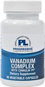 Progressive Laboratories Vanadium Complex with Cinnulin PF