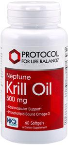 Protocol for Life Balance Neptune Krill Oil 500mg