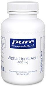 Pure Encapsulations Alpha Lipoic Acid 400mg