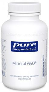 Pure Encapsulations Mineral 650