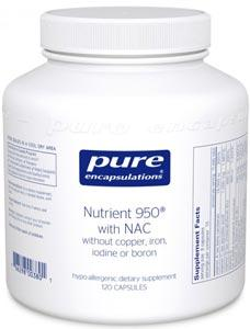 Pure Encapsulations Nutrient 950 with NAC