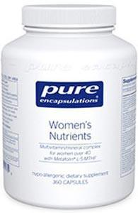 Pure Encapsulations Women's Nutrients