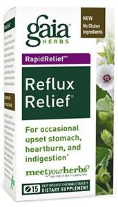 Gaia Herbs Reflux Relief Chewables