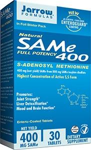 Jarrow Formulas SAM-e 400mg