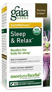 Gaia Herbs Sleep and Relax Capsules