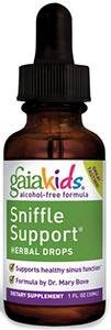 Gaia Herbs Sniffle Support Herbal Drops