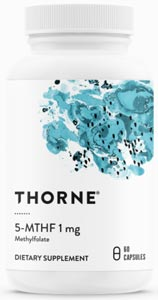 Thorne Research 5-MTHF 1mg