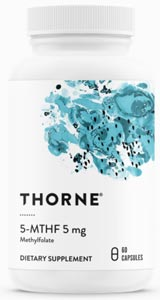 Thorne Research 5-MTHF 5mg
