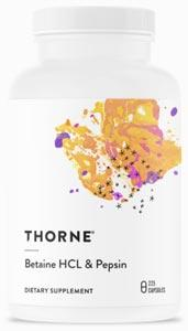 Thorne Research Betaine HCL & Pepsin