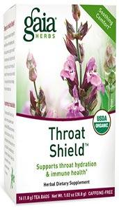 Gaia Herbs Throat Shield Tea