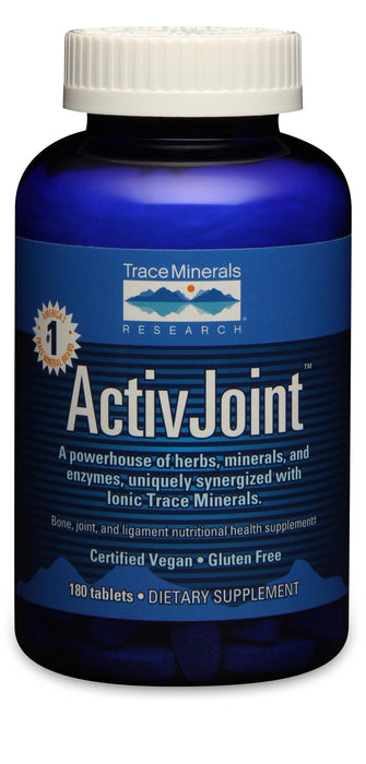 Trace Minerals Research ActivJoint Tablets