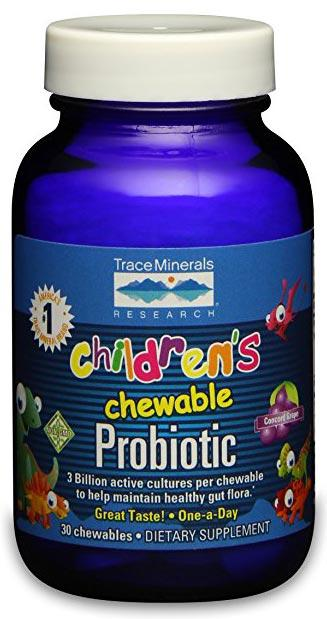Trace Minerals Research Children's Chewable Probiotic