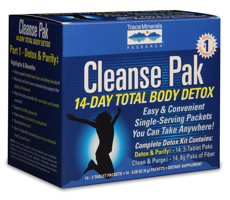 Trace Minerals Research Cleanse Pak