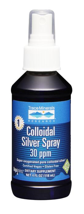 Trace Minerals Research Colloidal Silver Spray