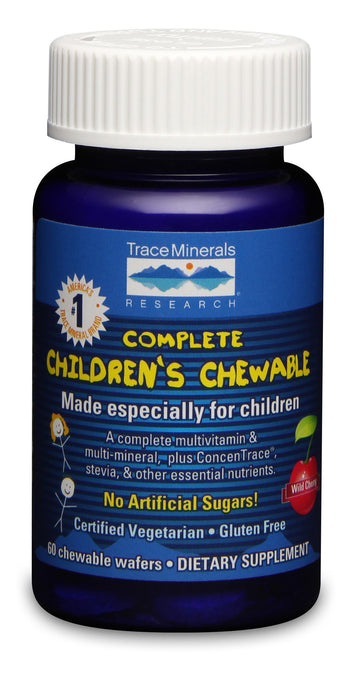 Trace Minerals Research Complete Children's Chewable