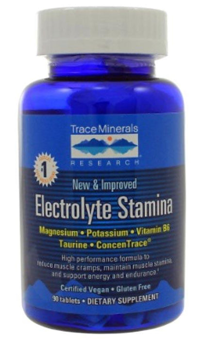 Trace Minerals Research Electrolyte Stamina Tablets