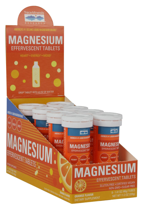Trace Minerals Research Magnesium Effervescent Tablets