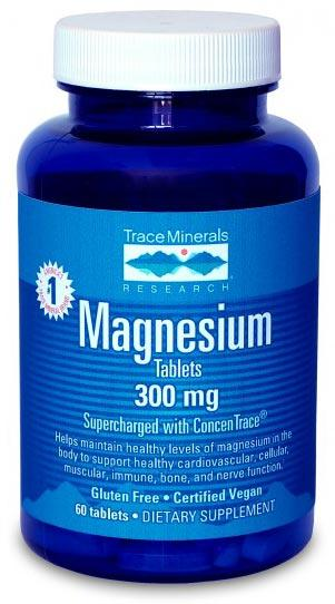 Trace Minerals Research Magnesium Tablets