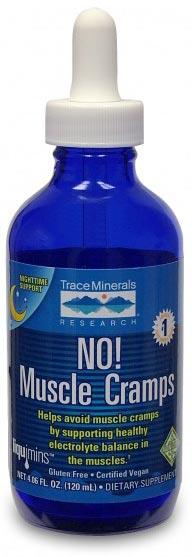Trace Minerals Research No! Muscle Cramps