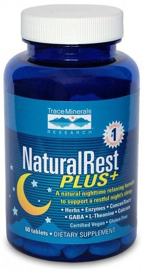 Trace Minerals Research Natural Rest Plus+