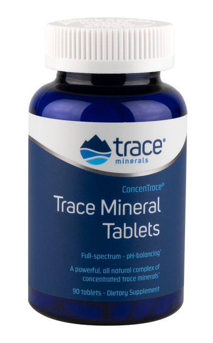 Trace Minerals Research Concentrace Trace Mineral Tablets