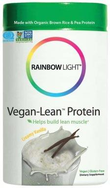 Rainbow Light Vegan Lean Protein Creamy Vanilla