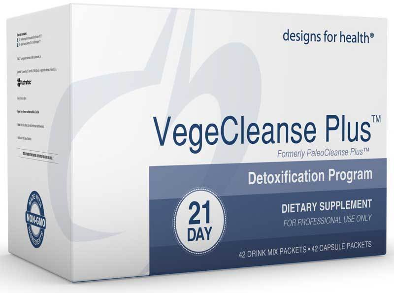 Designs for Health VegeCleanse Plus 21 Day Detox Program (formerly PaleoCleanse Plus)