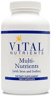 Vital Nutrients Multi-Nutrients with Iron & Iodine