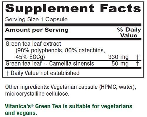 Vitanica Green Tea Capsules