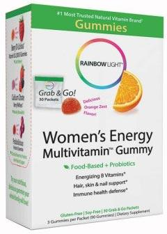 Rainbow Light Women's Energy Multivitamin Gummy