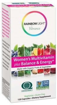 Rainbow Light Vibrance Women's Multivitamin Plus Balance & Energy