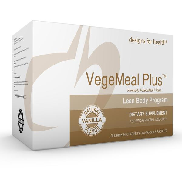 Designs for Health VegeMeal Plus Lean Body Program (formerly PaleoMeal Plus)